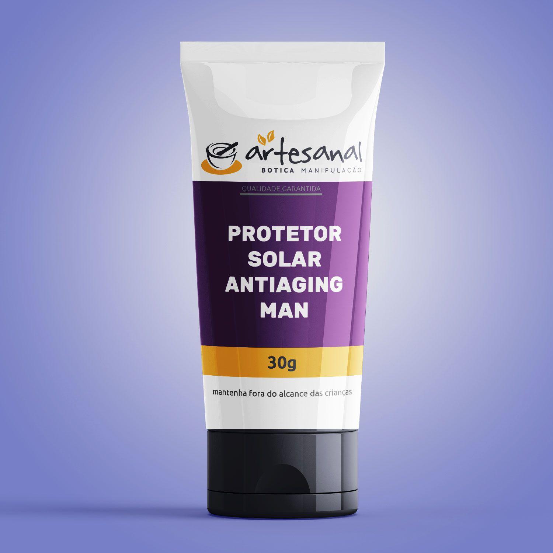 Protetor Solar Anti Aging Man 30g