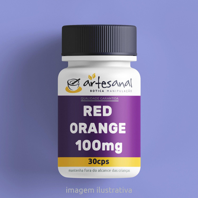 Red Orange - 100mg 30 Cps