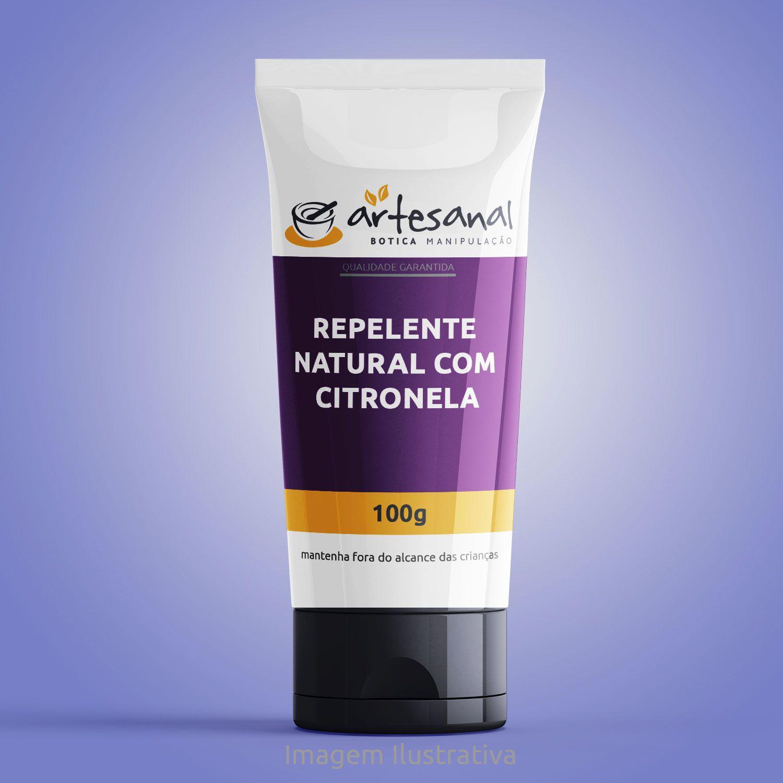 Repelente Natural Com Citronela - 100g