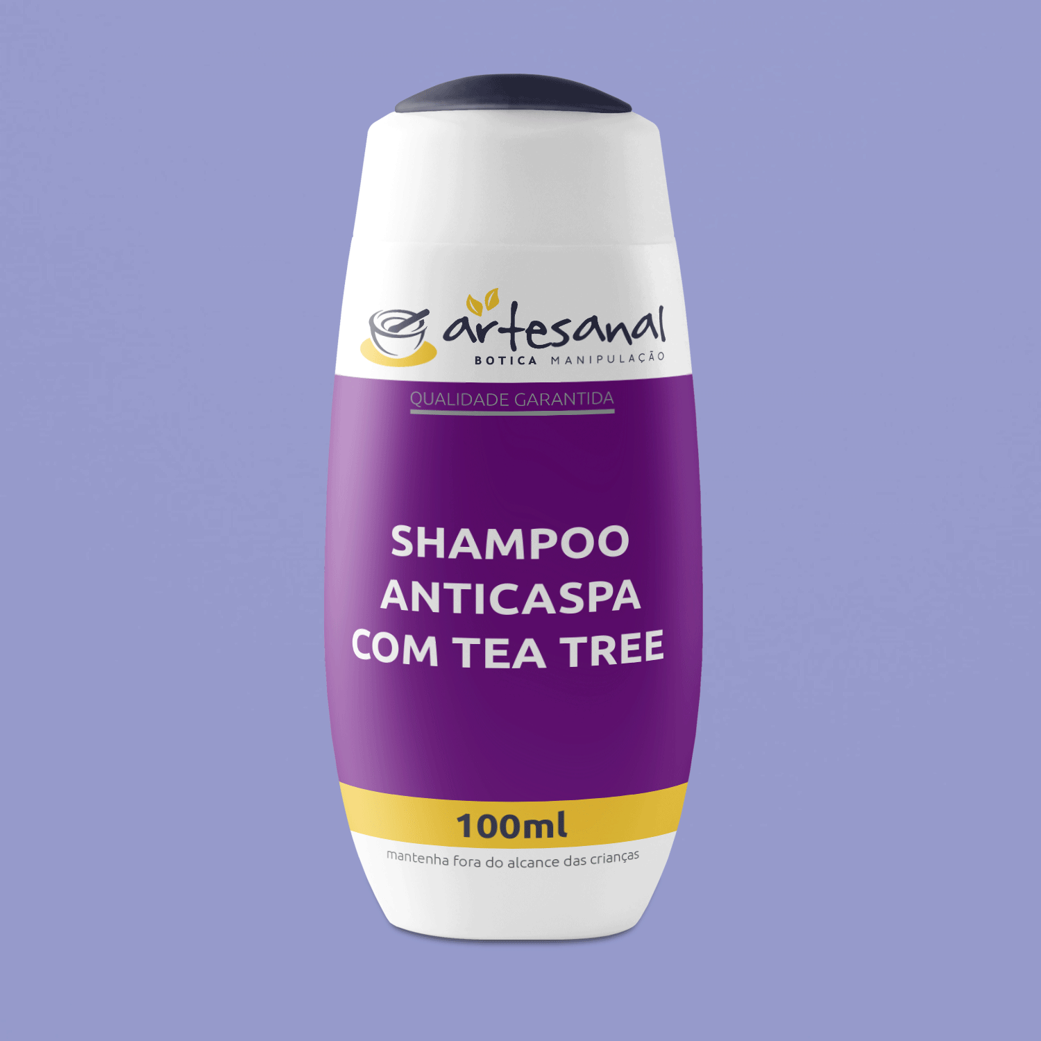Shampoo Anticaspa com Tea Tree 100ml