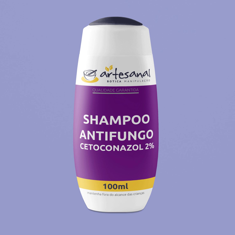 Shampoo Antifungo Cetoconazol 2% - 100ml