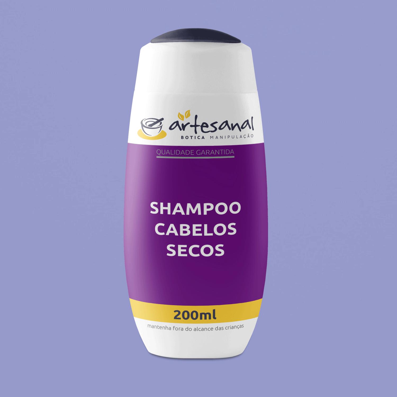 Shampoo Cabelos Secos - 200ml