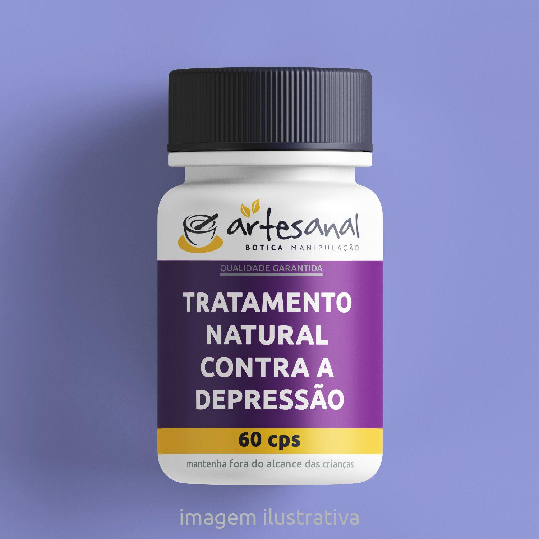 Tratamento Natural contra a Depressão - 60 Cps
