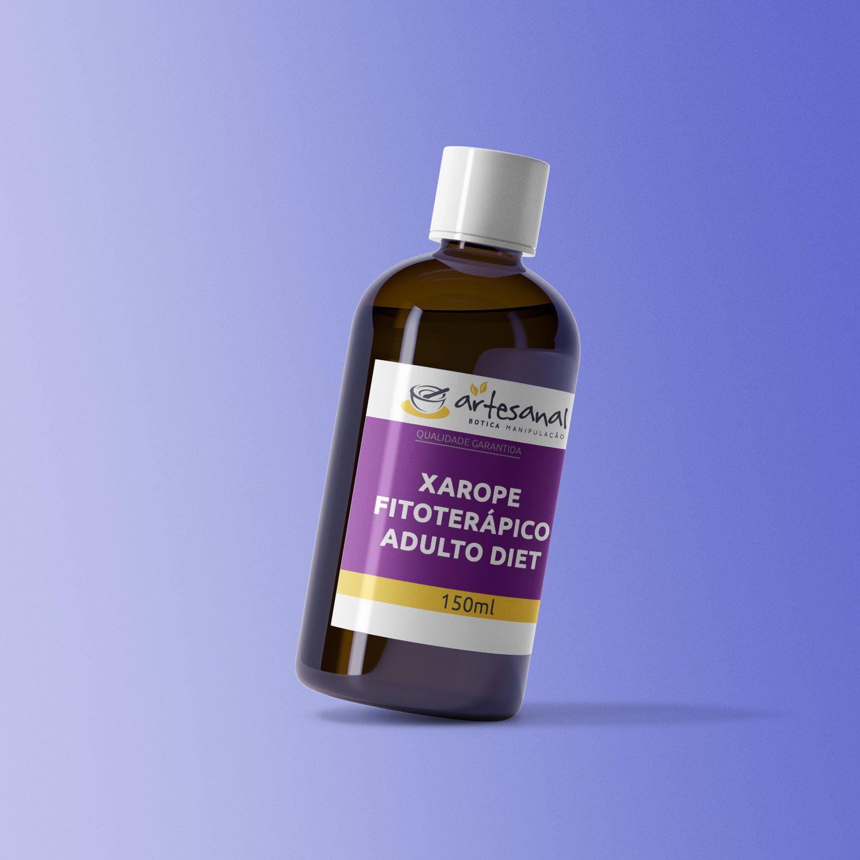 Xarope Fitoterápico Adulto Diet - 150ml