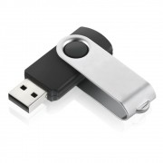 Pen Drive Multilaser Twist Preto 8GB PD587