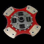Disco de Cerâmica 4 ou 6 pastilhas com ou sem molas Courier 1.3 1.4 1.6 Ka Fiesta Ecosport Focus 190mm 17 estrias Ceramic Power