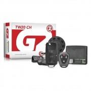 Alarme Automotivo Taramps TW20 CH G2 com Controle TR1-P + Chave Canivete TR3C
