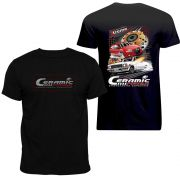 Camiseta Ceramic Power Gol / Opala - Preta GG