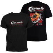 Camiseta Ceramic Power Multidisco Xtreme - Preta GG