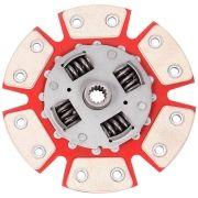 Disco Embreagem Cerâmica 6 pastilhas com molas Corsa 1.6 94 a 2003, Classic 1.6 2001 a 2007, Tigra 1.6 98 99 Ceramic Power