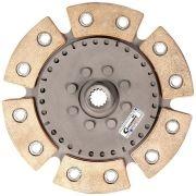 Disco Embreagem Cerâmica 6 pastilhas sem molas Agile, Celta, Classic, Corsa, Montana, Prisma 1.0 / 1.4 - 1994 a 2019 Ceramic Power
