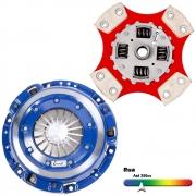 Embreagem Cerâmica 980lb 4 pastilhas com molas Gol, Parati G3 1.0 16v Turbo 2000 a 2005
