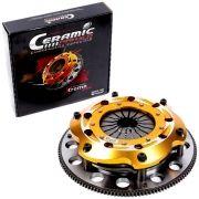 Embreagem Multidisco Xtreme GOLD Gol Santana Parati Saveiro Passat Voyage 1.8 e 2.0 motor AP 24 estrias até 1200cv Ceramic Power (M7005-A)
