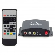 Receptor de TV Digital Multilaser Automotivo 1Seg - AU907 (RCP01)