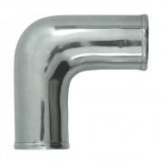 Tubo de Pressurização Canote Turbo Curva 90 Graus em Alumínio 2