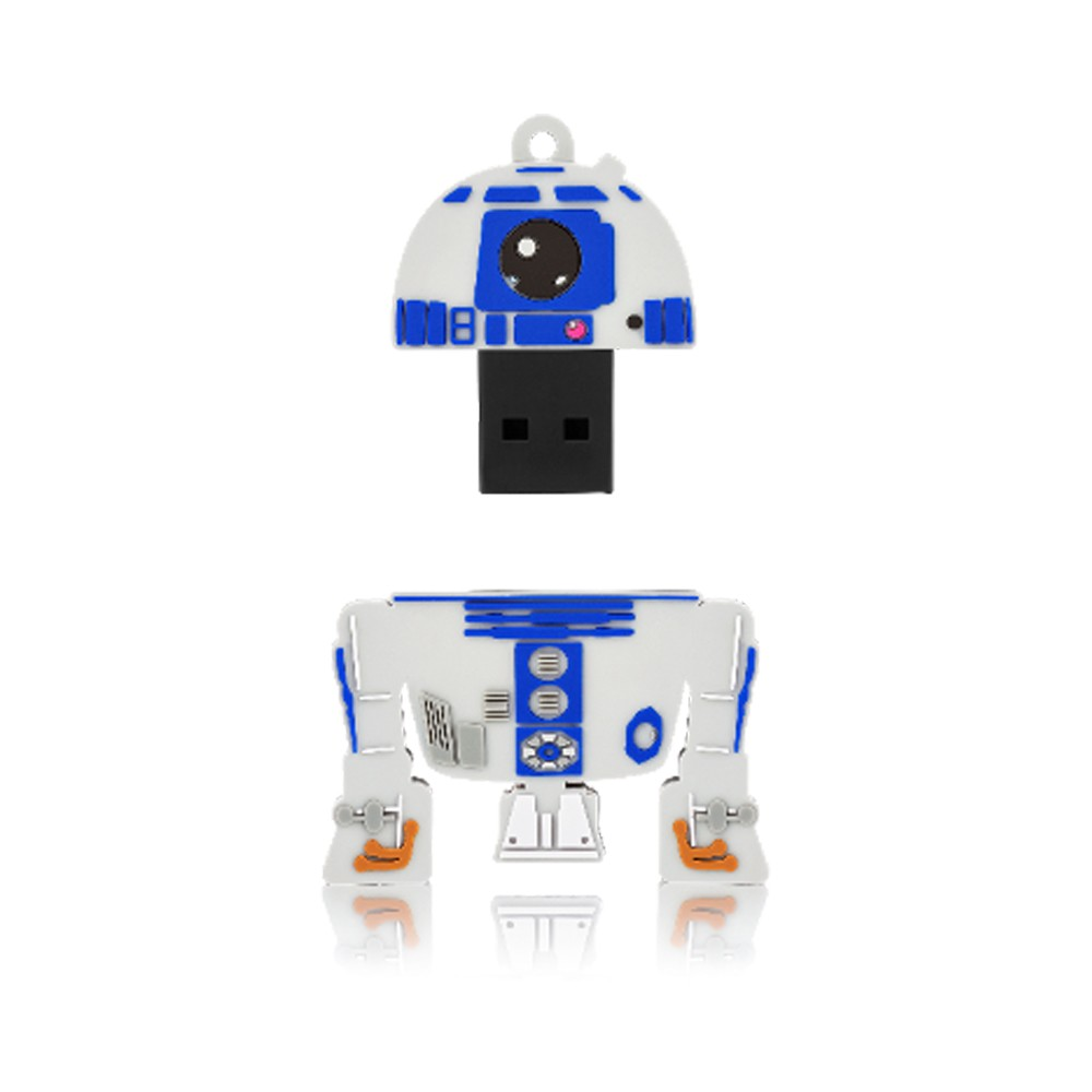 Pen Drive Star Wars R2D2 Multilaser 8GB PD036