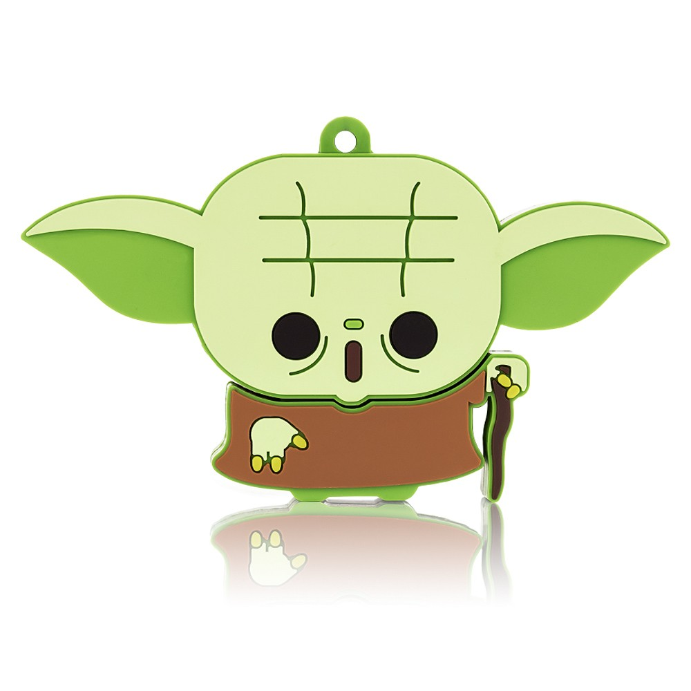 Pen Drive Star Wars Yoda Multilaser 8GB PD037