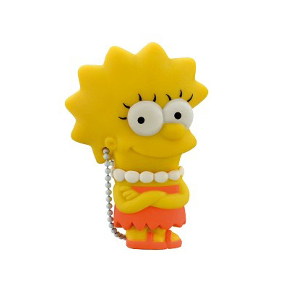 Pen Drive Simpsons Lisa Multilaser 8GB PD072