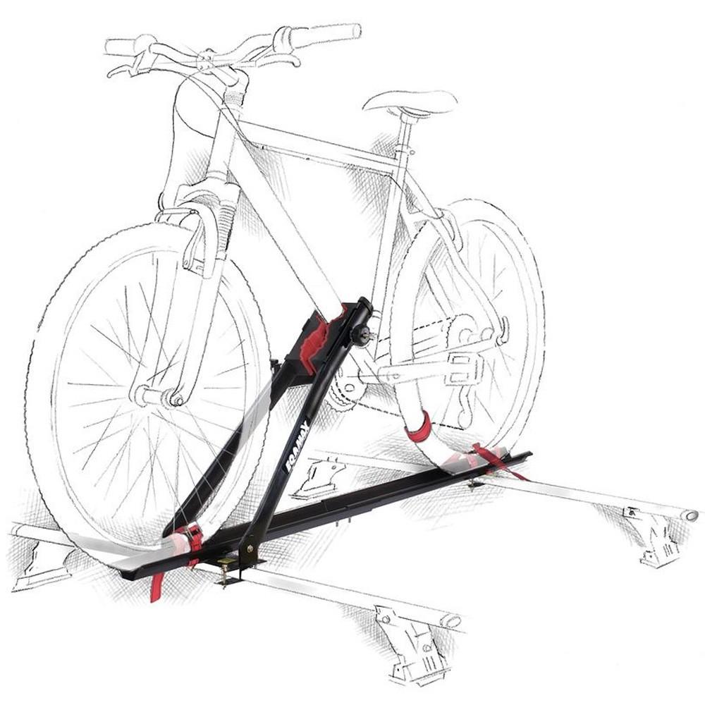 Suporte de Bicicleta Transbike Rack de Teto Velox Eqmax 1 Bike