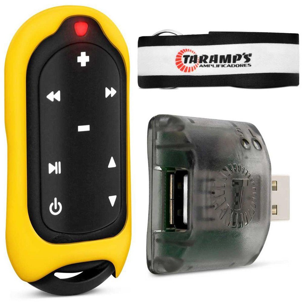 Controle de Longa Distância Taramps Connect Control 300 metros 16 Funções - Amarelo (CON03)