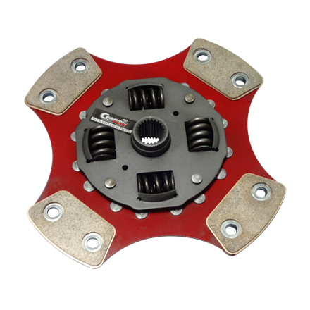 Disco de Cerâmica 4 ou 6 pastilhas com ou sem molas Monza Kadett Ipanema 1.8 2.0 até 92 210mm 24 estrias Ceramic Power