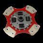 Disco de Cerâmica 4 ou 6 pastilhas com ou sem molas A3 1.6 8v 100cv 1.8 20v após 99 215mm 28 estrias Ceramic Power