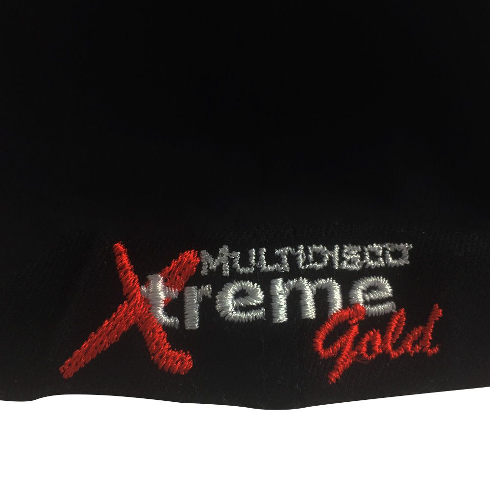 Boné Flexfit Bordado Ceramic Power Multidisco Xtreme - Preto