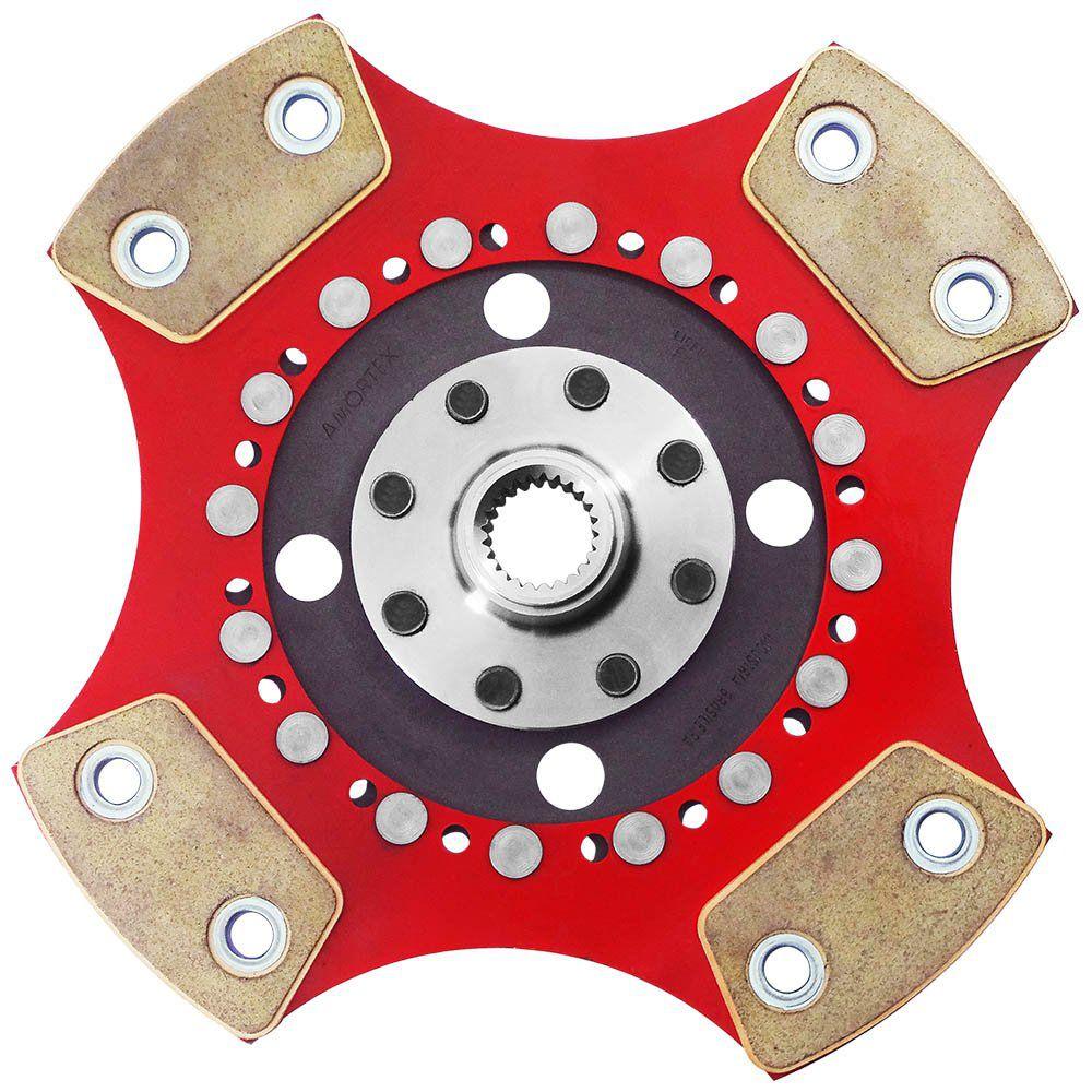 Disco Embreagem Cerâmica 4 pastilhas sem molas Monza Kadett Ipanema 1.8 2.0, Astra 2.0 95 96, Vectra 2.0 96 a 2003 Ceramic Power