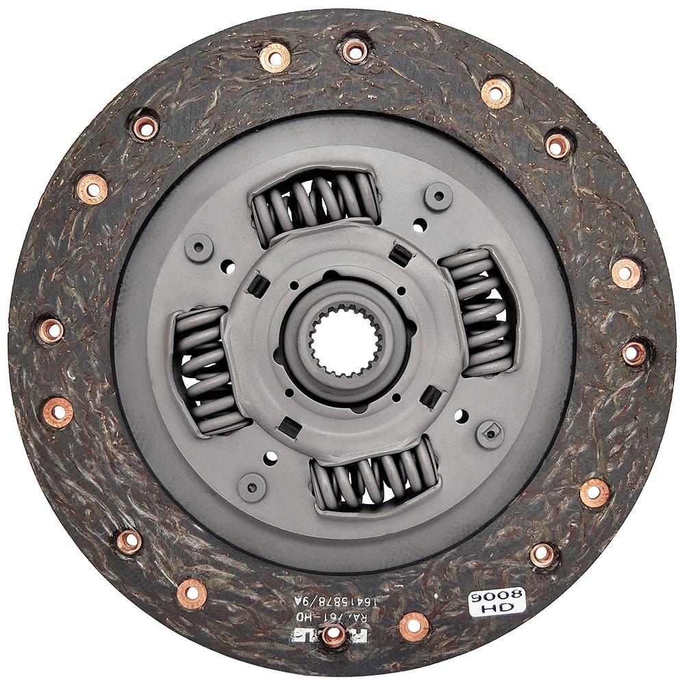 Disco Embreagem Lona HD Civic 1.6 16v 92 93 94 95 96 97 98 99 2000 Ceramic Power