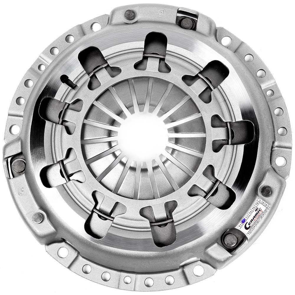 Embreagem Cerâmica 980lb Light 6 pastilhas com molas AP 1.8 2.0 Pedal Leve Gol, Santana, Parati, Saveiro, Passat, Voyage