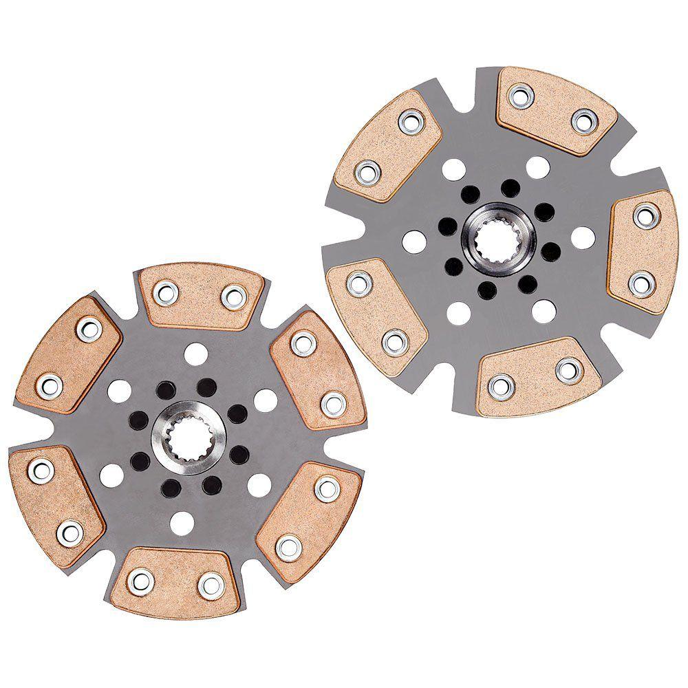 Embreagem Multidisco Xtreme Gold AP 1.8 2.0 Estria Chevette Gol Parati Saveiro G1 G2 G3 G4 Voyage Santana Passat Ceramic Power
