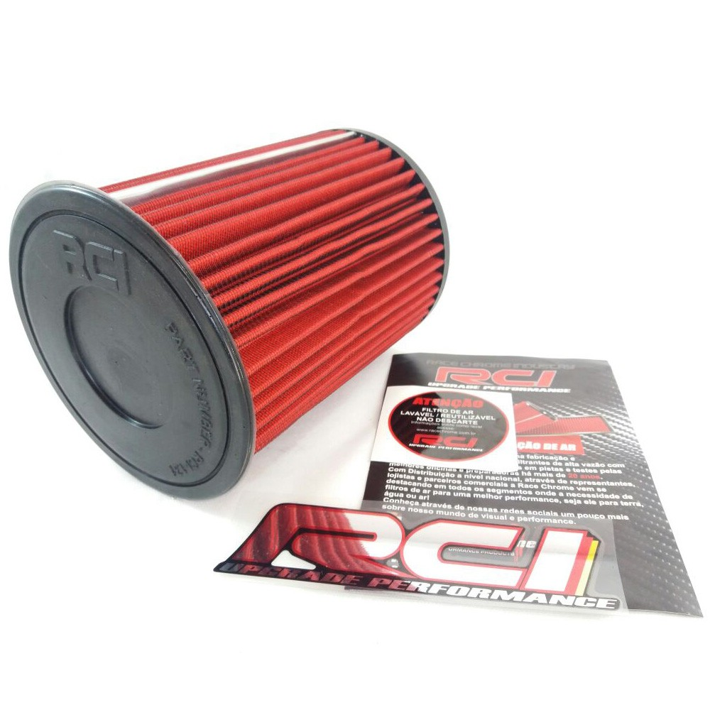 Filtro de Ar Esportivo Audi A1 1.4 16v TFSI Turbo após 2010 Inbox Race Chrome