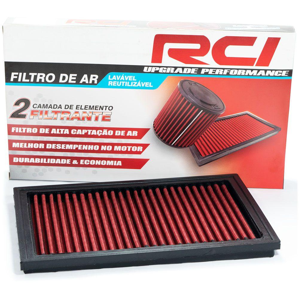 Filtro de Ar Esportivo Punto 1.4 Fire 8v 2007 2008 2009 2010 2011 2012 2013 2014 2015 2016 2017 Inbox Race Chrome