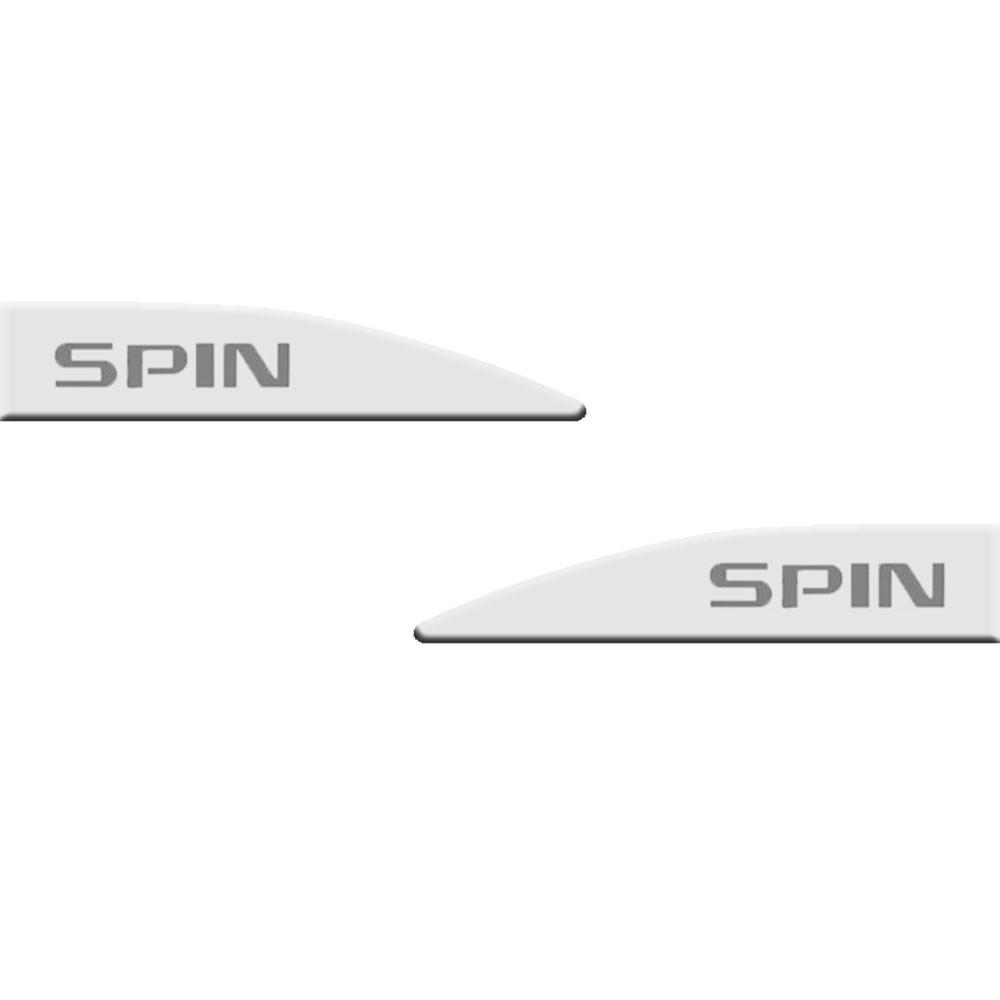 Jogo Friso Lateral Spin Branco Summit Slim 4 Peças (FRISO05)