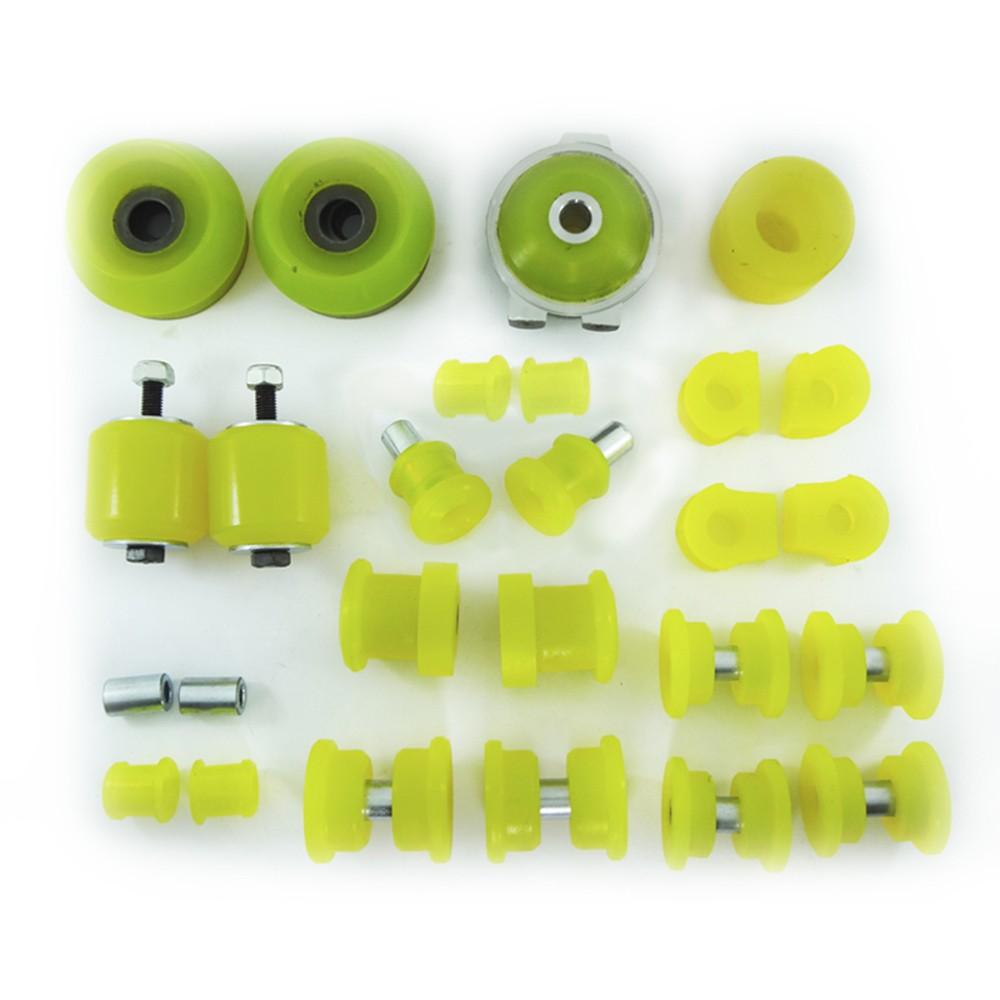 Kit Buchas de Suspensão e Coxins em Poliuretano PU AP VW G1