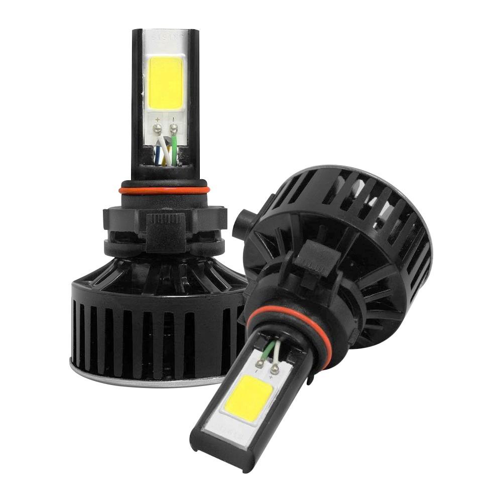 Kit Lâmpada Super LED HB4 (9006) 6000k 12V e 24V 24W 3700LM Efeito Xenon - Tech One