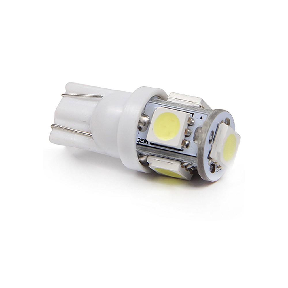 Lâmpada Pingo T10 Branca 5 LEDs para Teto, Placa, Painel - Tech One