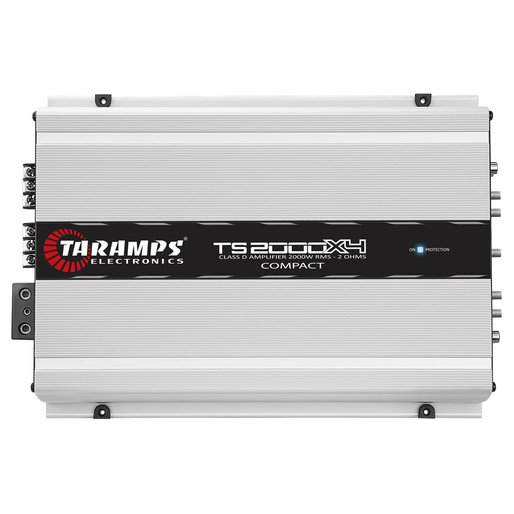 Módulo Amplificador Digital Taramps TS 2000x4 - 2000W RMS 4 Canais 2 Ohms