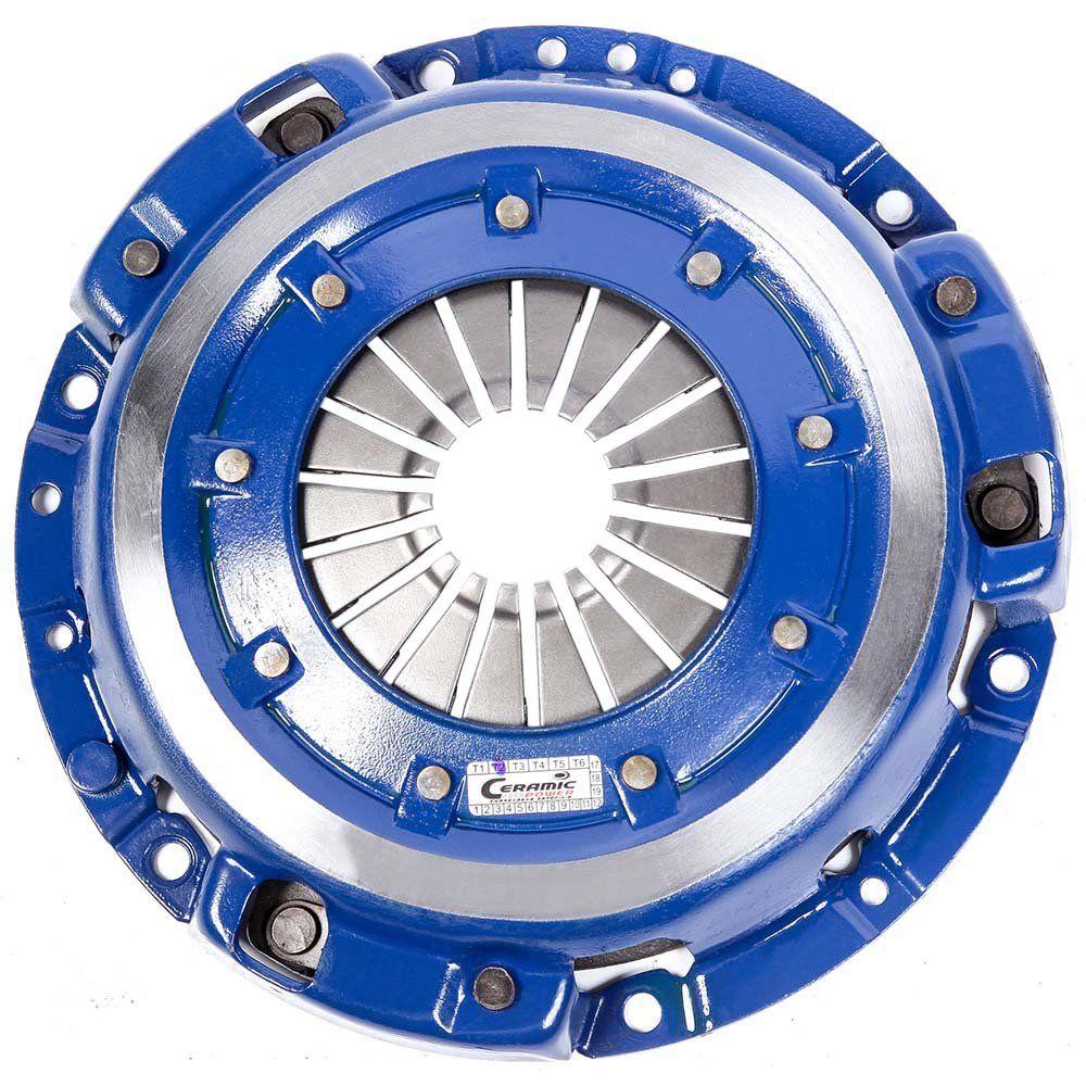 Platô Embreagem Cerâmica 1200 lb Fiesta Ka 1.0 1.3 1.4 Endura Zetec Rocam Zetec SE 96 a 2008 Ceramic Power