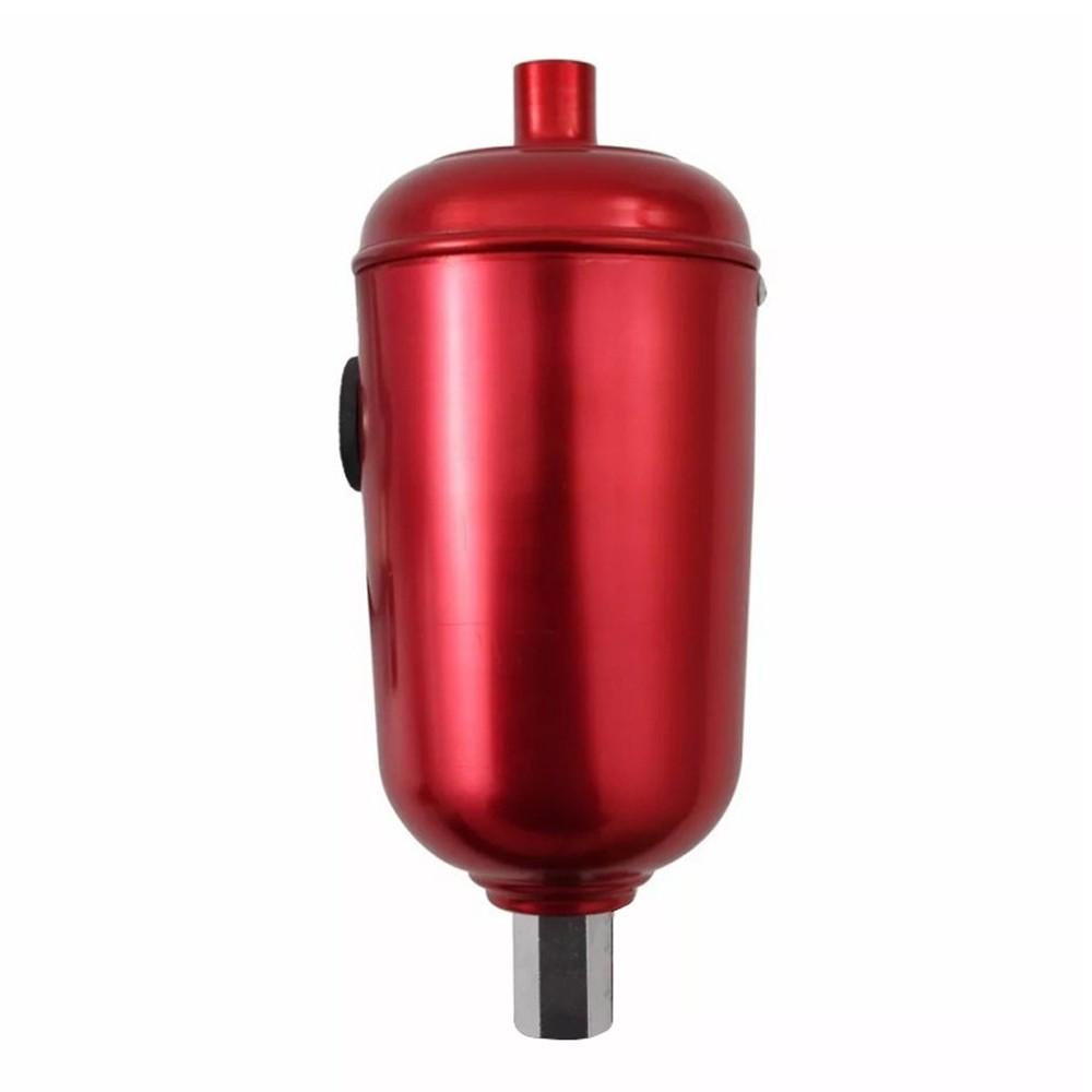 Reservatório de Óleo Pequeno 1/2 Litro Race Chrome Vermelho