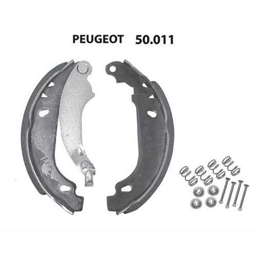 Sapata De Freio Peugeot 206 apos 98 207 1.4 1.6 apos 09 Sist Bosch (SF50011)