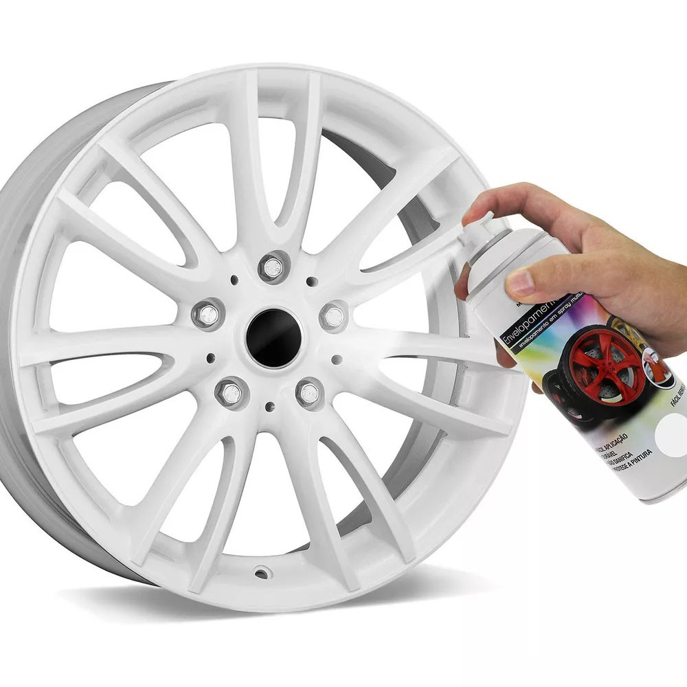 Spray de Envelopamento Líquido Multiuso Multilaser 400 ML Branco Fosco AU421 (EL02)