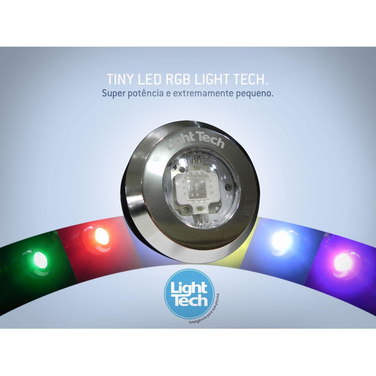 Led Piscina - Tiny LED INOX RGB 10W Light Tech