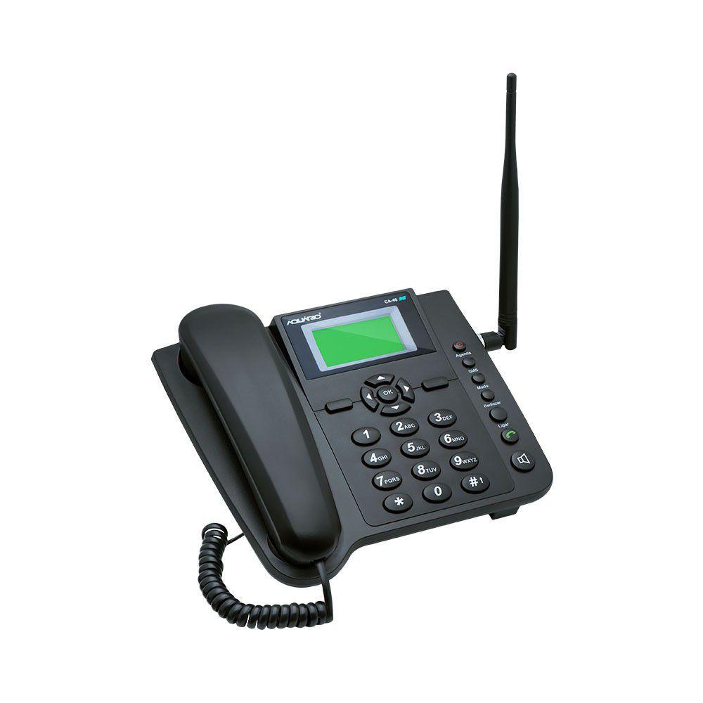 Telefone Celular Rural Aquário 3G 5 Bandas CA-403G