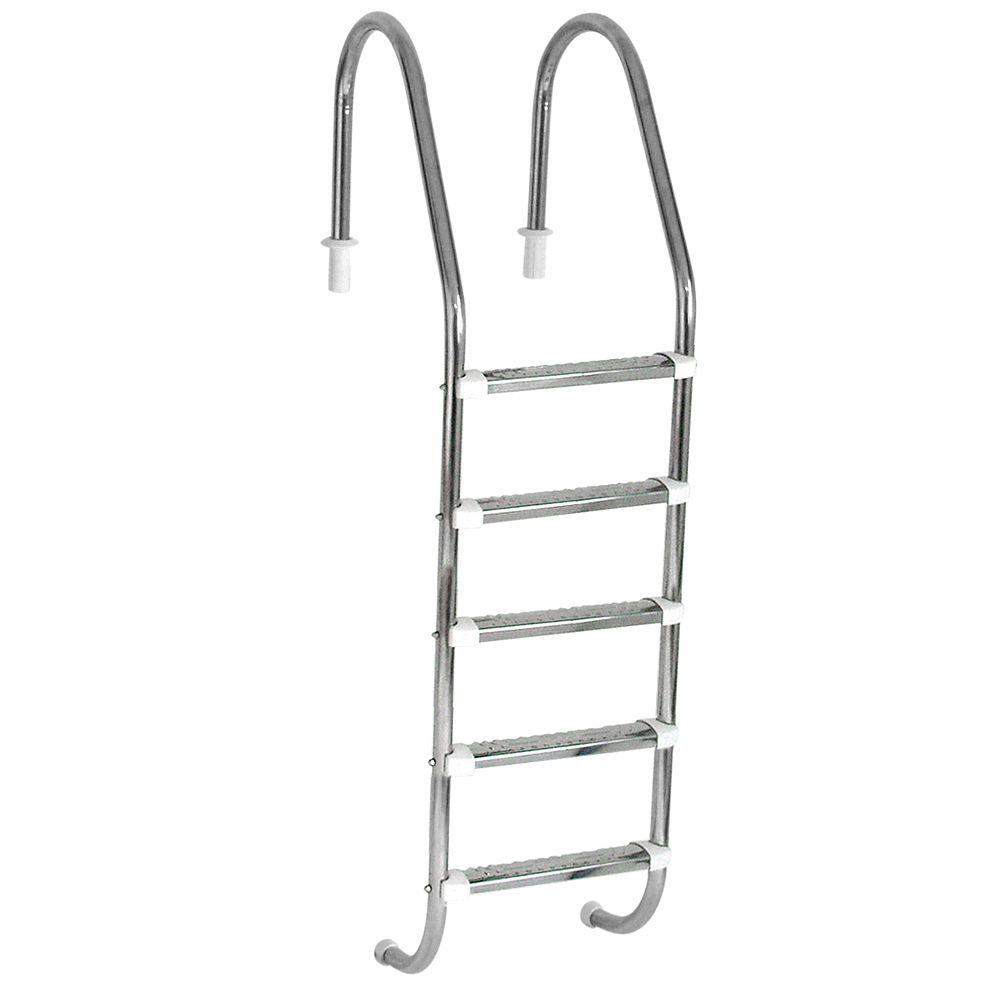 Escada para Piscina 5 degraus Inox - Sodramar