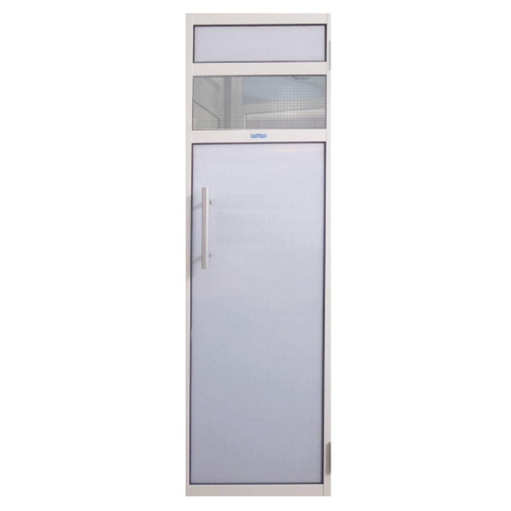 Porta Branca para Sauna de Policarbonato - Sodramar