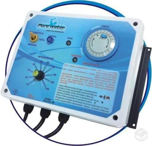 Ionizador Para Piscina - Pw 15 - Piscinas Até 15.000 L