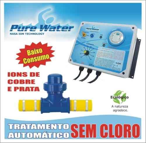 Ionizador Pure Water Pw 305 - Piscinas Até 305.000 L