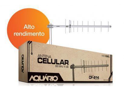 Antena Externa Aquario 850MHz - 14dBi