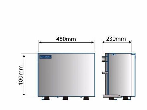Sauna a Vapor Indoor Steam Inox - Sodramar 9kw - até 10m³